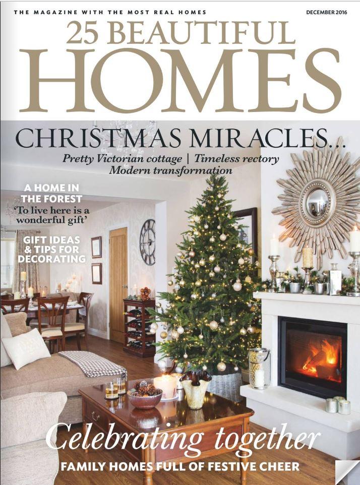 25 Beautiful Homes diciembre 2016