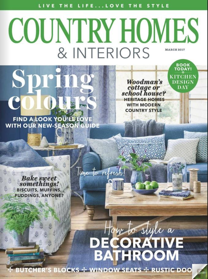 Country Homes And Interiors Marzo 2017