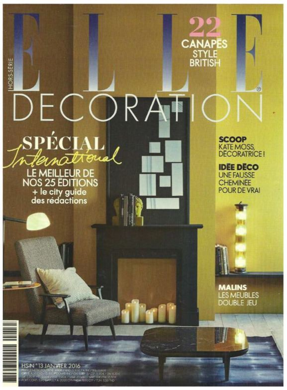 Elle Decoration enero 2016