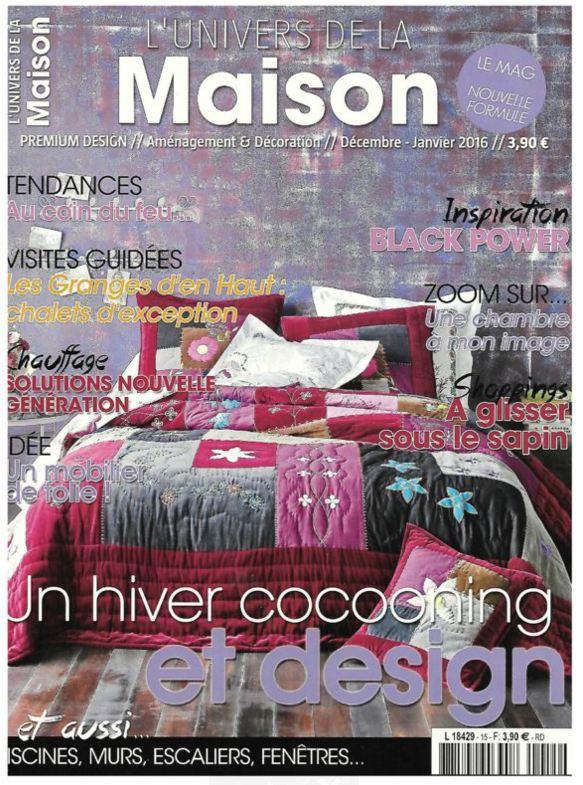 L'Univers De La Maison  enero 2016