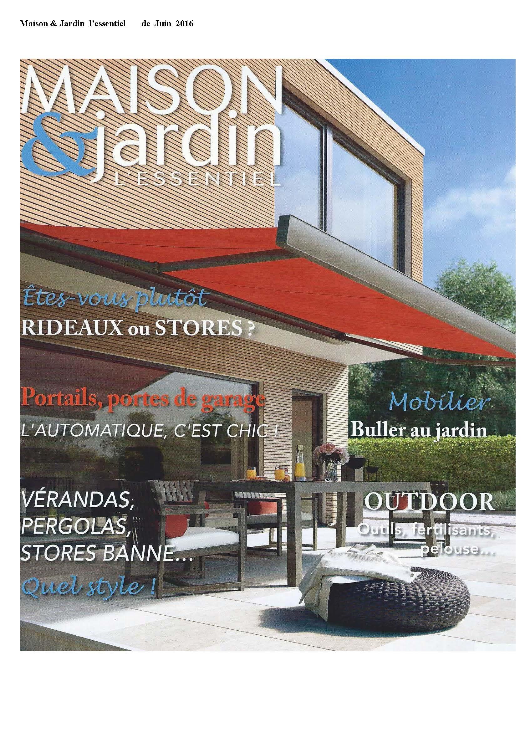 PIB en Maison & jardin junio 2016