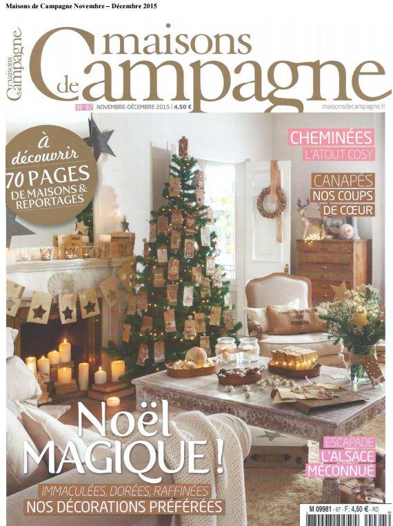 Maison de champagne noviembre - diciembre 2015