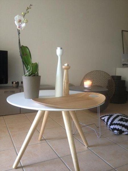 Esta mesa de centro Beel se hizo específicamente para mi salón!