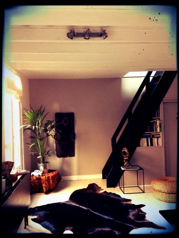 Â¡Estilo industrial vintage perfecta para mi sala con la luz de pared de bistro!