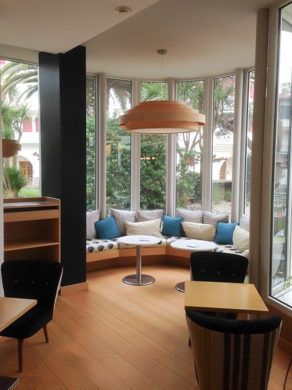 La suspensión Bamboo en el hotel Helianthal en St Jean de Luz