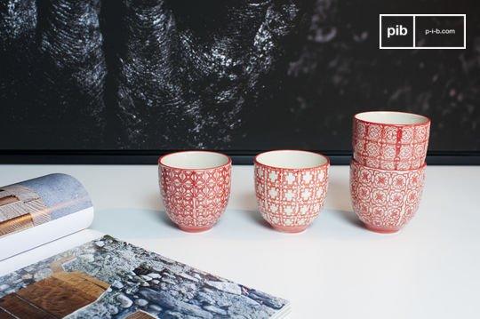 4 tazas de café Kennedy