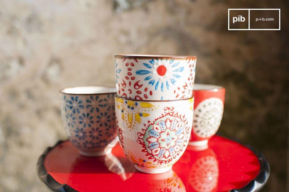 4 tazas expreso Tzigane