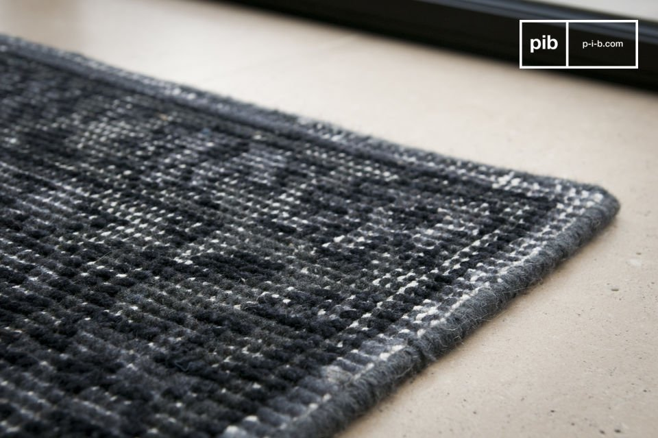 Aspecto desteñido - 100% lana