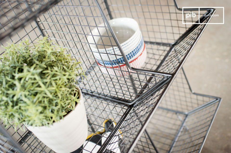 Ideal para su uso como método de almacenamiento en todas las habitaciones de la casa