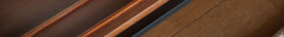 Descriptivo Materiales  Amplio estante y armario Ramatuelle