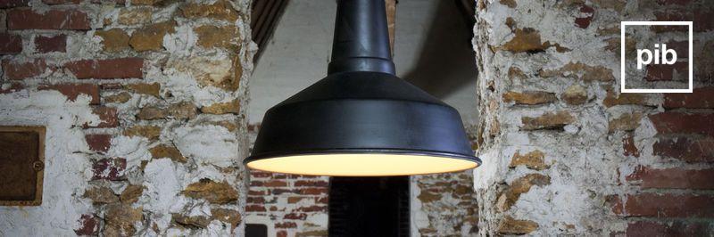 Antigua colección de lámparas de techo de diseño vintage industrial