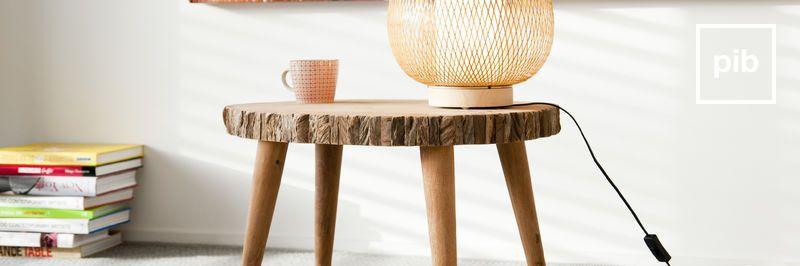 Antigua colección de mesas de centro de madera shabby chic