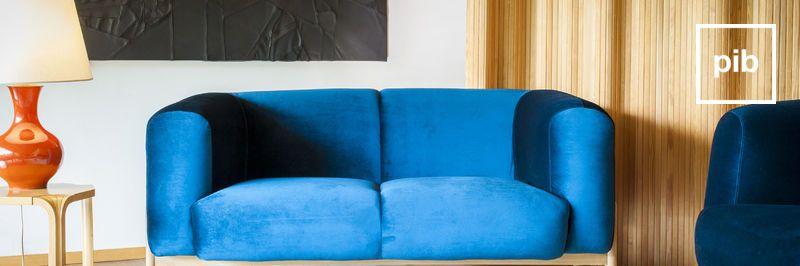 Antigua colección de sofás