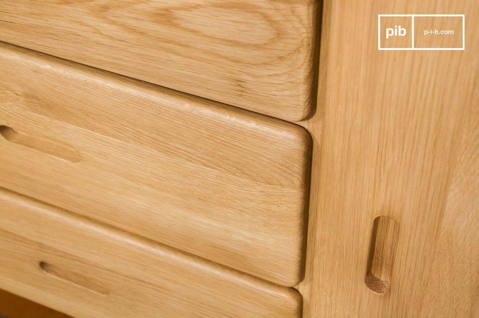 Estas curvas se encuentran en los bordes suaves y limpios de las puertas