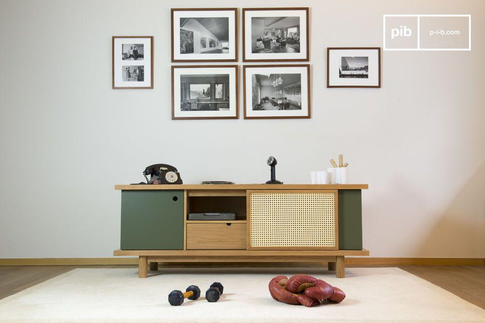 Ideal como mueble TV o para almacenar platos
