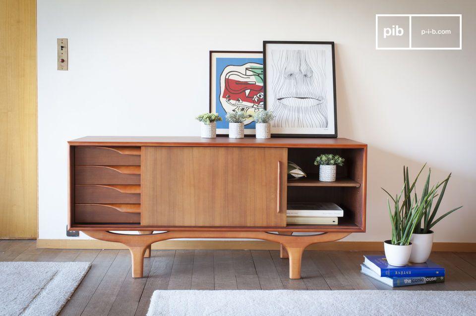Una verdadera oda al diseño escandinavo de los años 50