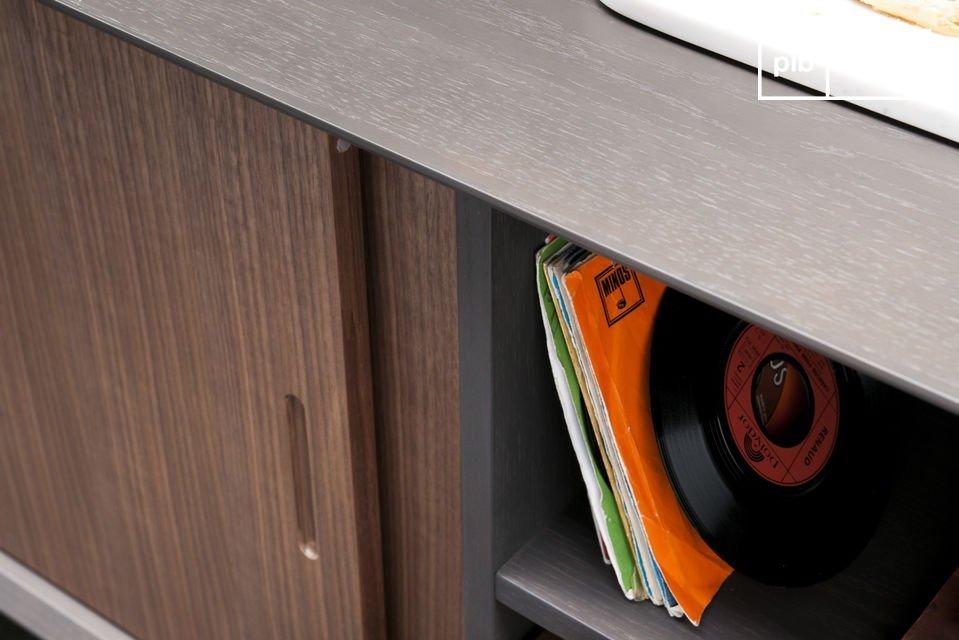 Opte por un mueble que aliará la práctica concepción moderna de un mueble de almacenamiento con