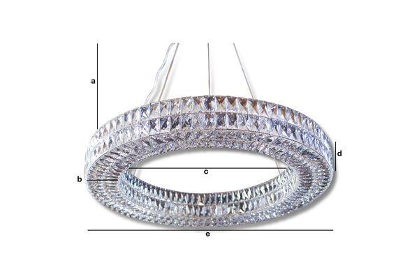 Dimensiones del producto Araña de cristal de Monte Carlo