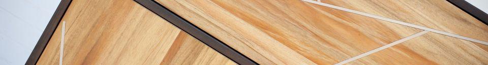 Descriptivo Materiales  Armario de madera Linéa