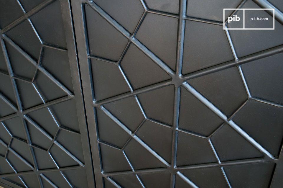 Estos motivos geométricos recuerdan a los muebles de la primera mitad del siglo XX