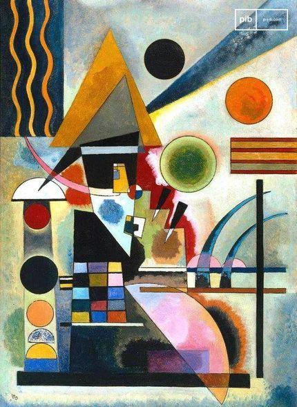 Arte de la Bauhaus - Columpio de Wassily Kandinsky, 1925