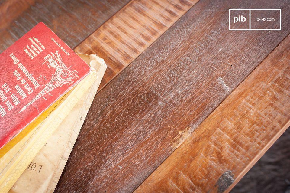 Encanto de la teca antigua y espiritu industrial puro