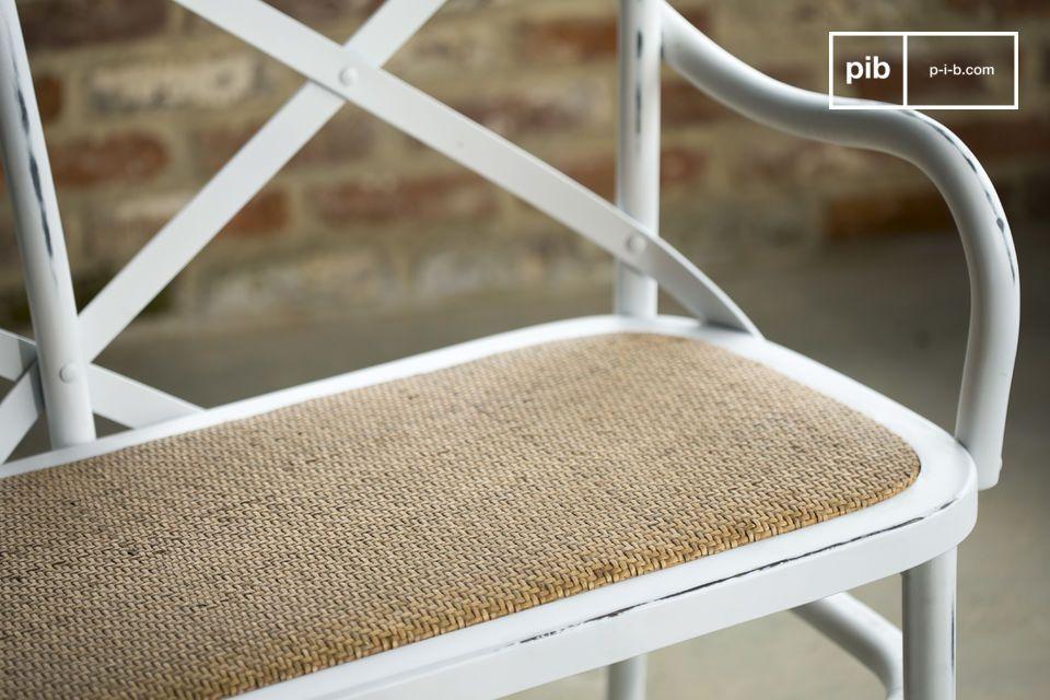Una silla cómoda y robusta