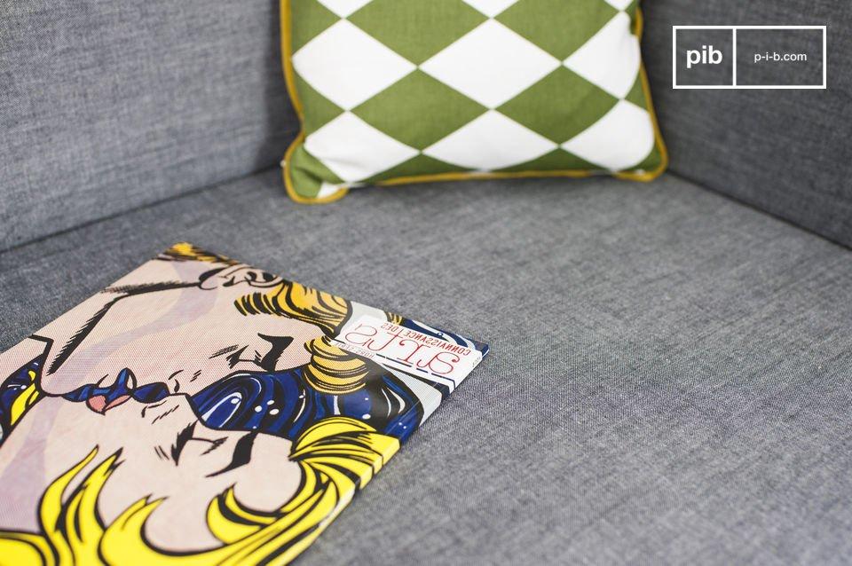El banco Sensilä es un mueble que aportará un toque escandinavo vintage a su salón o a su entrada