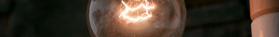 Descriptivo Materiales  Bombilla Deco Edison de 25 vatios