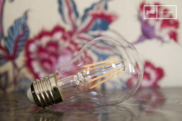 Bombilla LED de 6cm de filamento vintage