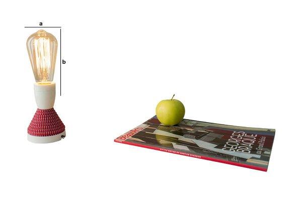 Dimensiones del producto Bombilla retro con filamento largo