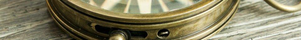 Descriptivo Materiales  Brújula de Timonel