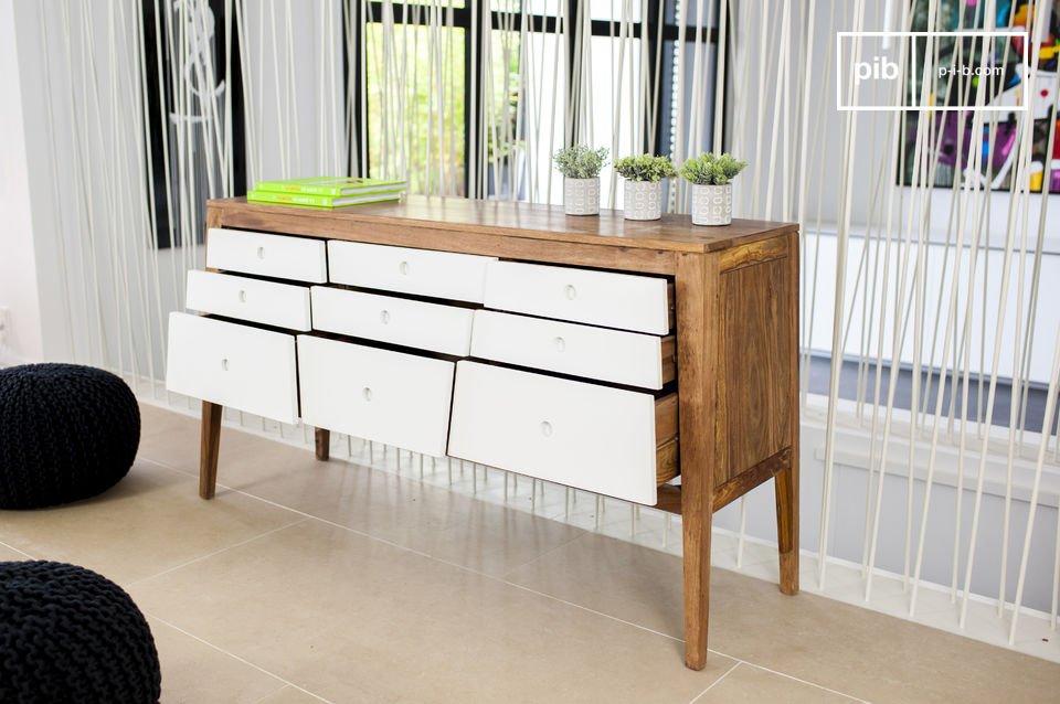 Diseño original con todo el encanto del mobiliario escandinavo