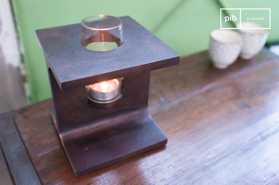 El candelabro Motown es un hermoso accesorio decorativo que trae en sus raíces el diseño