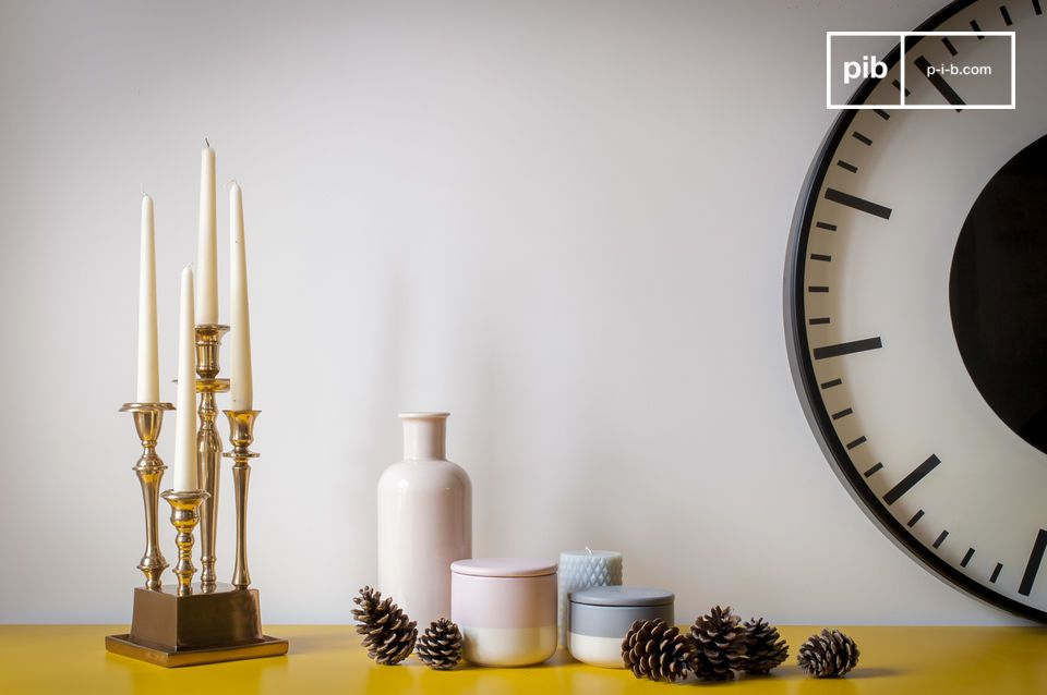 Un soporte elegante y original para tus velas