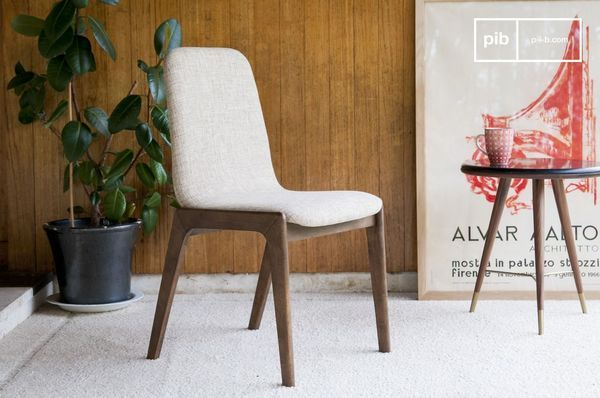 Chaise en tissu Stella