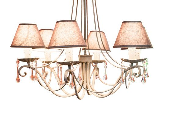 Chandelier Boho Clipped