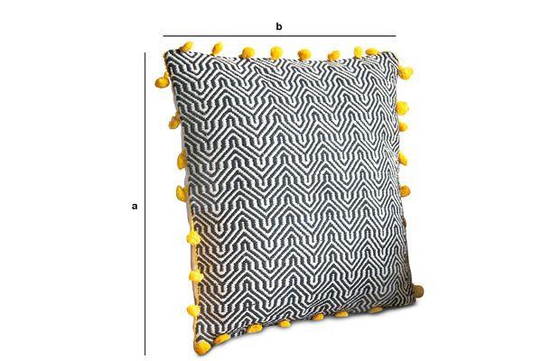 Dimensiones del producto Cojín de algodón Ziggy