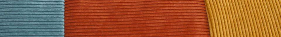 Descriptivo Materiales  Cojín tricolor Mathis