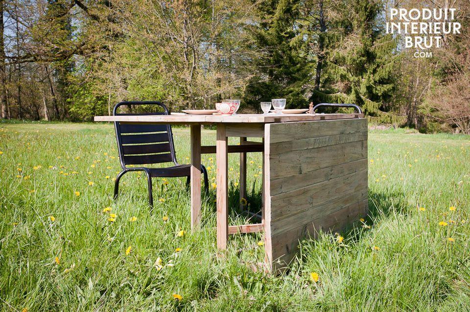 Una mesa larga que se adaptara a cualquier ocasión
