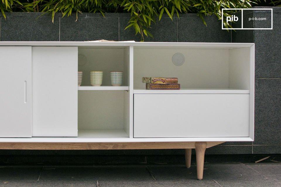 Elija una cómoda de almacenamiento que combina la comodidad de un diseño moderno y la elegancia de