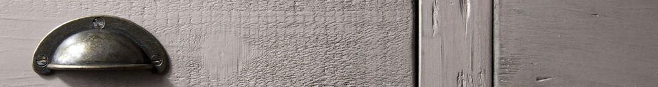 Descriptivo Materiales  Cómoda de madera Gironde