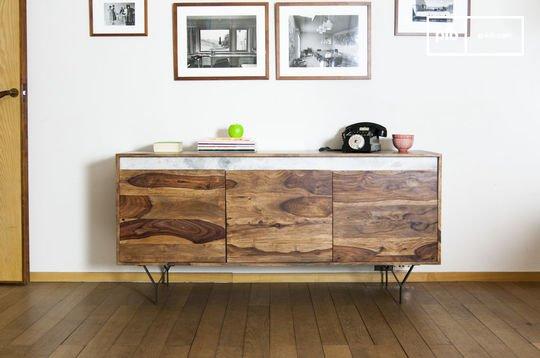 Cómoda de madera Mabillon