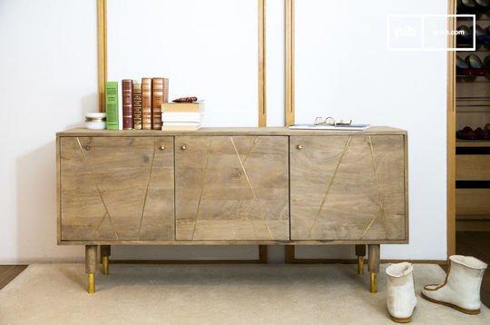 Cómoda de madera Messinki