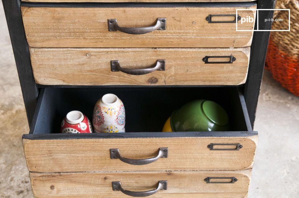 La cómoda Van Ness es una pieza de almacenamiento estética con un encanto especial