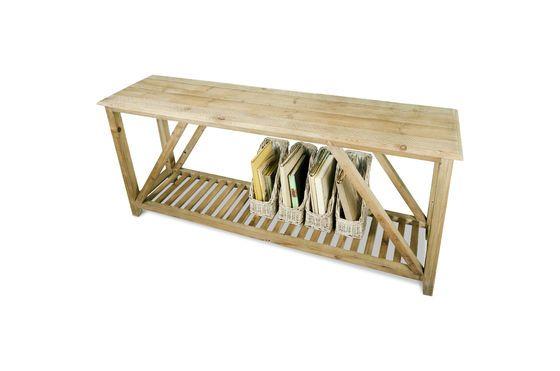 Consola de madera Cadynam Clipped
