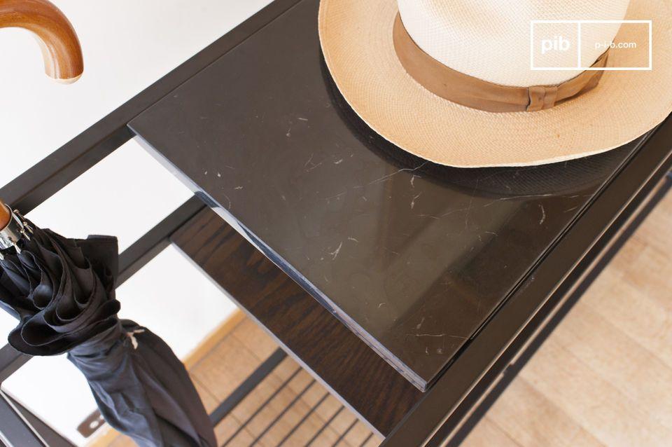 Ideal para el vestíbulo de entrada pero también para vestir un panel de pared en una sala de estar