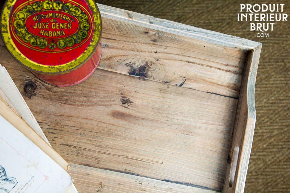 Un diseño con madera sólida que garantiza una gran estabilidad