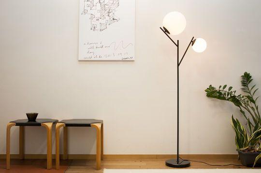 Doble lampara Hemings