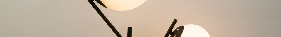 Descriptivo Materiales  Doble lampara Hemings